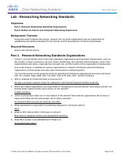 3.2.3.4 Lab - Researching Networking Standards.docx