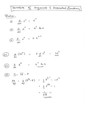Lesson: Derivatives of Polynomial Functions
