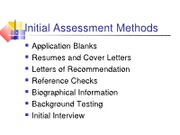 Ch 8 Initial  Asessment Methods (3)