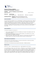 Course Outline - RMSS 2012-08-22