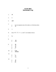Worksheet 2 key