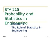 STAT 215 - CHAPTER 01-LECTURE 03 & 04
