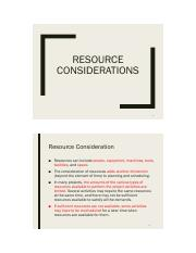 ch08 - Resource Considerations.pdf