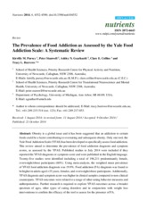 R - The Prevalence of Food Addiction as Assessed by the Yale Food Addiction Scale A Systematic Revie