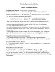 Math 115 chapter2section5 handout