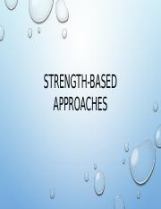 BSHS345 STRENGHT-BASED APPROACHES.pptx