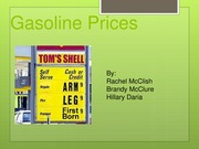 Powerpoint on Gasoline Prices