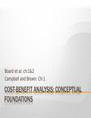 5_Cost-Benefit Analysis_foundations