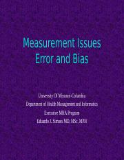 8544- 4- Measurement Issues