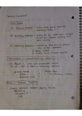 ACCT Class Notes (Week 3)