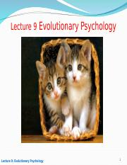 Lecture 9_Evolution_Drugs_Sexual Selection.ppt [Autosaved].ppt