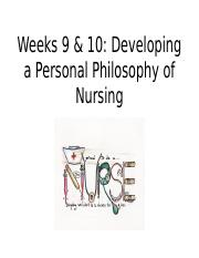 personal philosophy of nursing essay example The essay is supposed to describe my philosophy of nursing i would like you to include a few things when describing my philosophy i would like you to mention that i volunteered in a hospital and that was the deciding factor on becoming a nurse, that i like to help people, and that i.