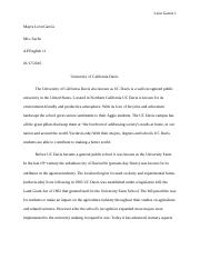 UCD Research Paper