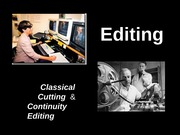 Week 7 - 1  Editing Classical Continuity & Time - Saunders Fall 13 (1)