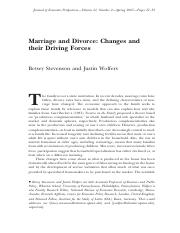 Marriage and divorce - Changes and their driving forces.pdf