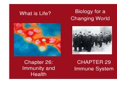 Chapter 29(S) and 26 (P) Immune system TO POST [Compatibility Mode]
