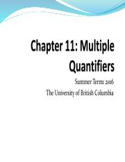 Chapter 11 - Multiple Quantifiers, Chapter 14 - Numerical Quantification