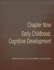 Chapter 9 - Cog Dev Preschool -   Student.pptm