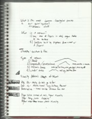 Geology Volcanoes Notes
