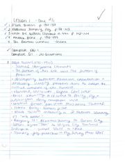C. Stevens American Literature II NOTES