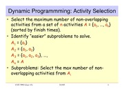 lecture 11 on Introduction to Algorithms