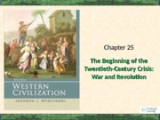 Chapter 25 War and Revolution