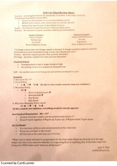 econ 2010 exam 1 study guide Explore timing and format for the ap macroeconomics exam, and review sample questions, scoring guidelines, and sample student responses.