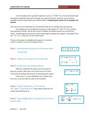 completing the square.pdf