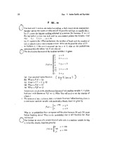 Suggested Problems for Final 2