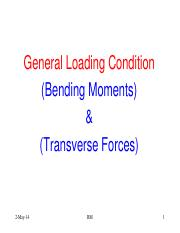Lec-14 Bending Moment and Transverse Forces.pdf