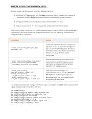 Remote Access Configuration Facts.docx