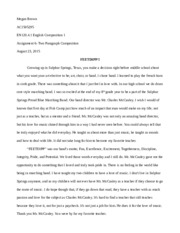 assignment compare and contrast essay inner beauty versus  1 pages feetdipp assignment 6