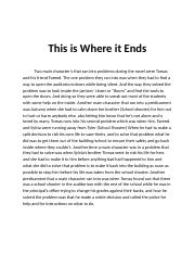 This is Where it Ends (Problems of main characters).docx