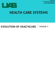 330_Mod_1_Evolution_of_Healthcare _Systems
