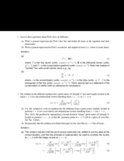 Midterm exam solutions