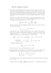 MATH 401 Homework 4 Solution