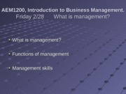 2-28 The Practice of Management