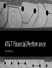AT&T Financial Performance