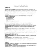 Accounting Study Guide 78