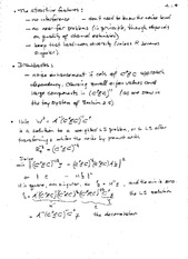 PHYS 1650 Conic Sections Notes