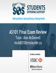 AS101 SOS Final Exam Slides