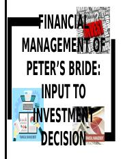 FINANCIAL MANAGEMENT OF PETER'S BRIDE.ppt.pptx
