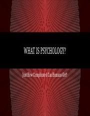 Day 2 - What is Psychology.pptm