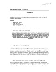 reliable sources worksheet doc As a student who may be required to evaluate a full-text primary source online, how might you go about determining the quality and reliability of a primary source websites can be created for a variety of purposes: to disseminate information, provide access to collections, support teaching, sell products, persuade, etc.
