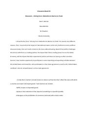 Discussion - Reduction to Barriers to Trade.docx