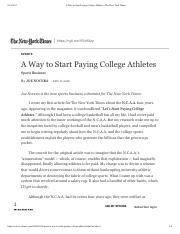 A Way to Start Paying College Athletes - The New York Times.pdf