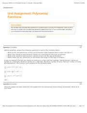#2 Polynomial functions ASSIGNMENT.pdf