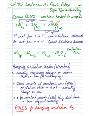CH105 Lecture 21 Final Redox