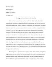 The Bigger The Better... Essay
