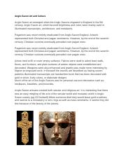 Anglo-Saxon Art and Culture.docx